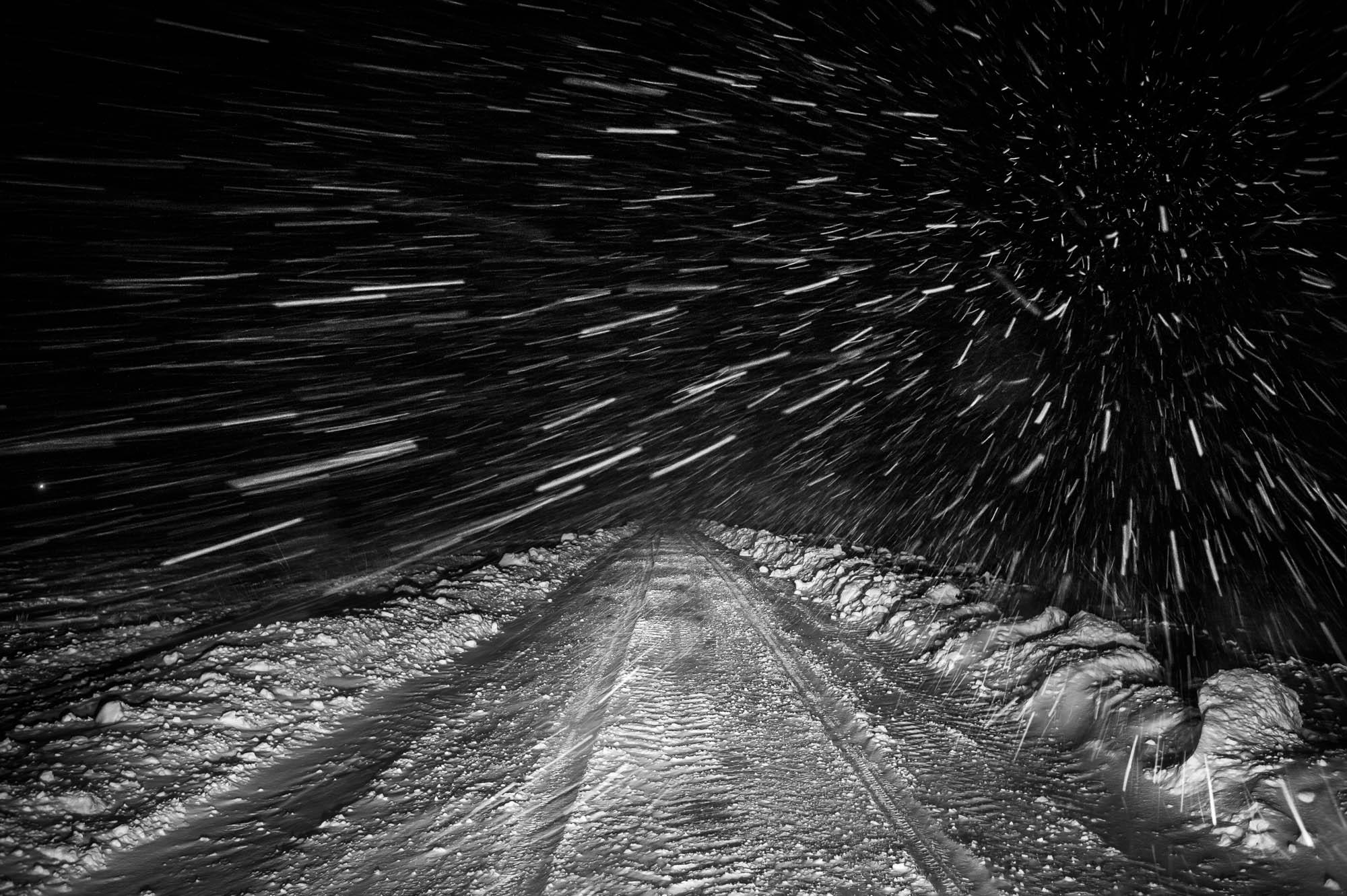 Genrebillede: Snevejr…Foto: Martin Damgård