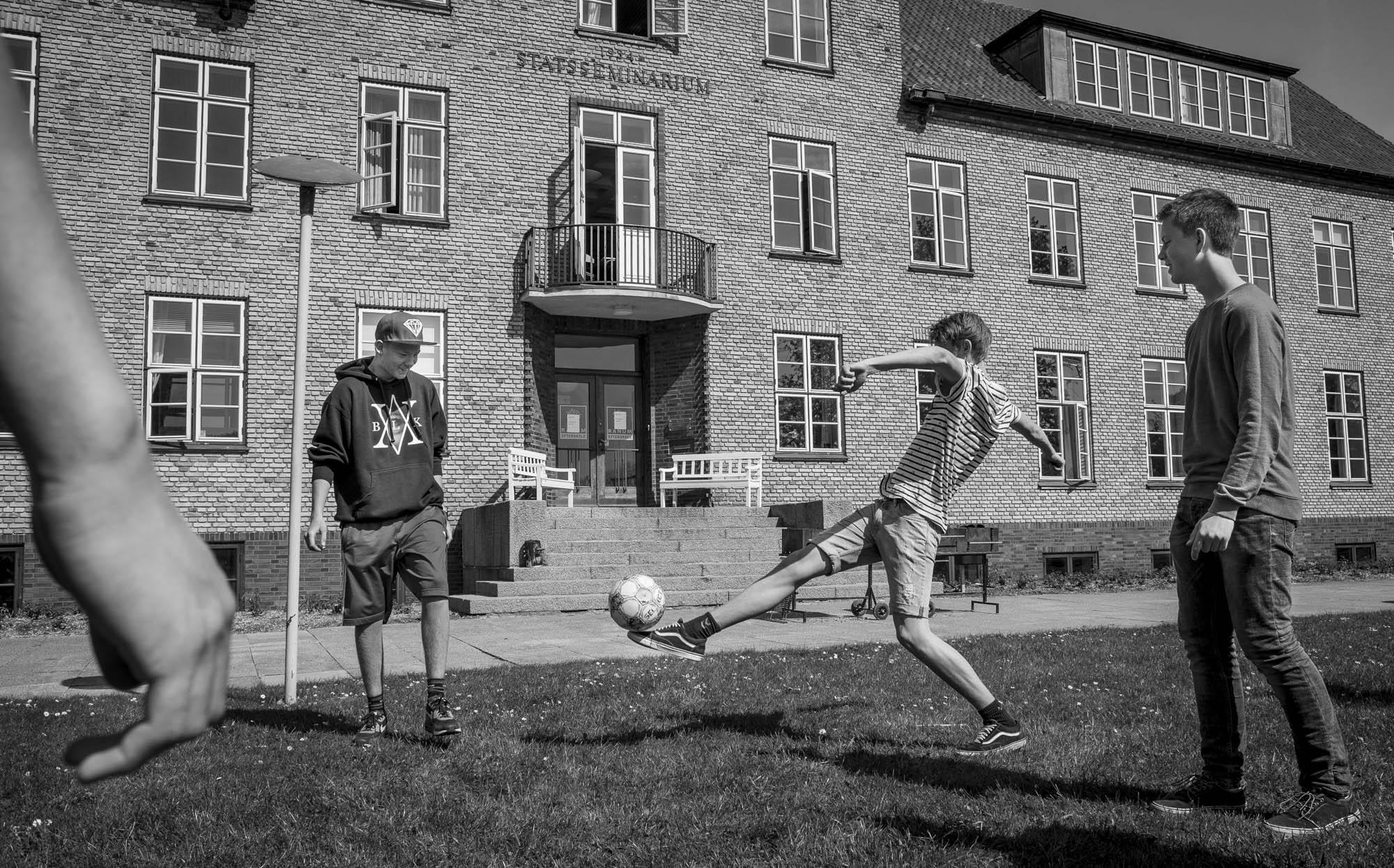 Billeder til artikel om Ranum Efterskole.Foto: Martin Damgård