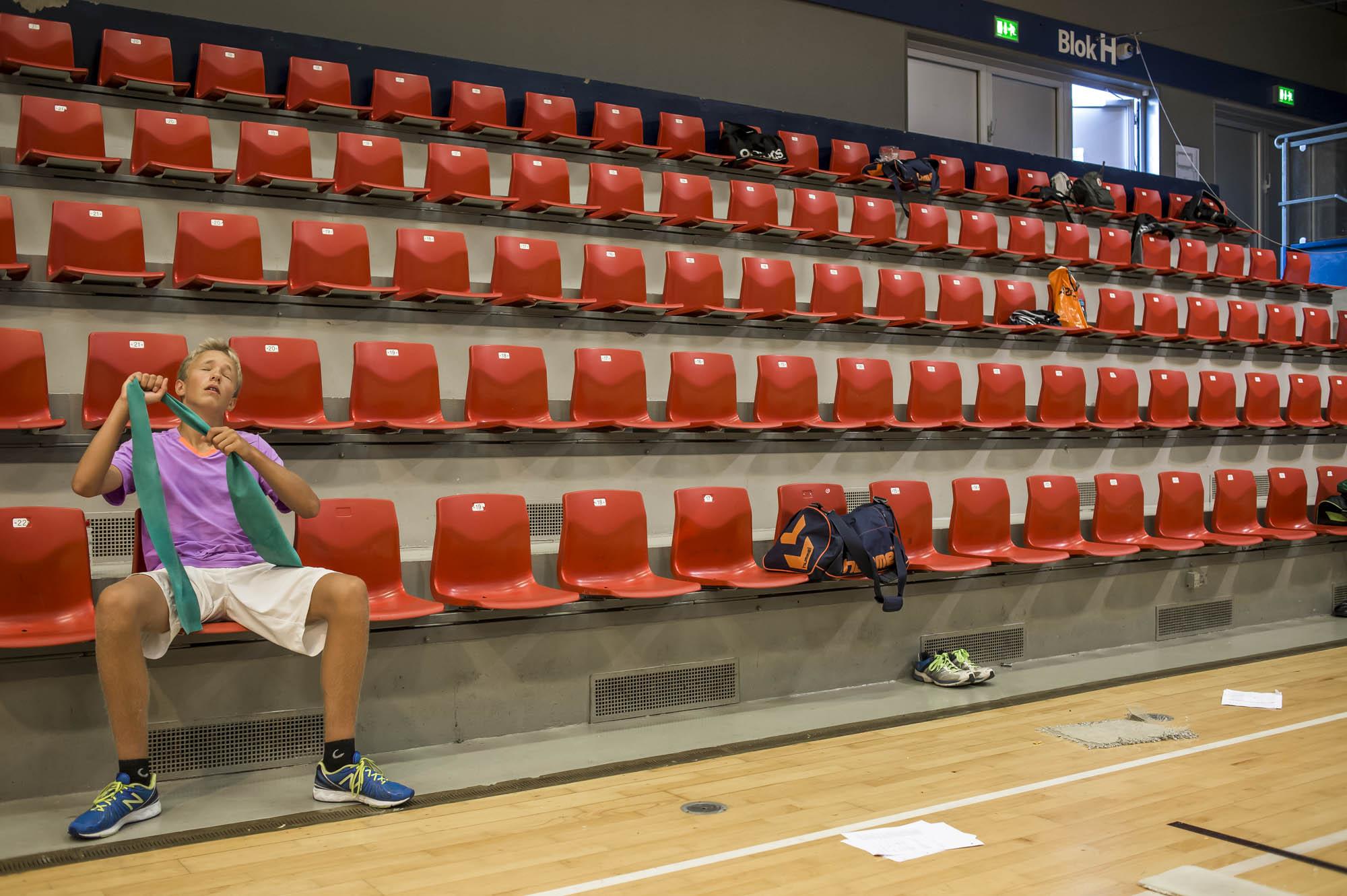 Billeder til artikel om eliteidrætsklasser i Aalborg. Foto: Martin Damgård