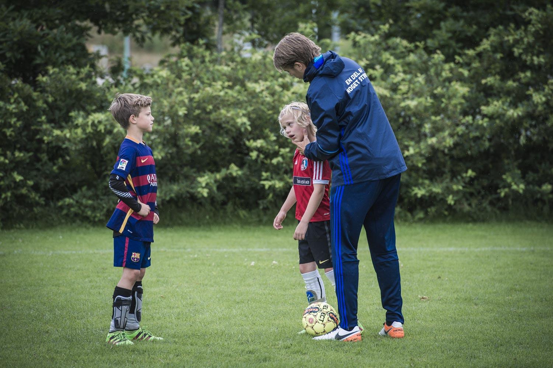 Billeder fra FIF's forboldskole i Fjerritslev. Foto: Martin Damgård